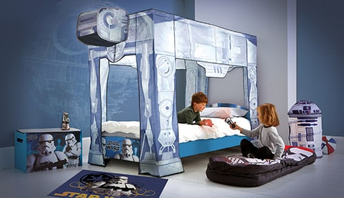 lit enfant star wars at at super insolite. Black Bedroom Furniture Sets. Home Design Ideas
