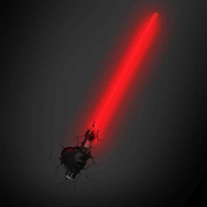 lampe sabre laser dark vador super insolite. Black Bedroom Furniture Sets. Home Design Ideas