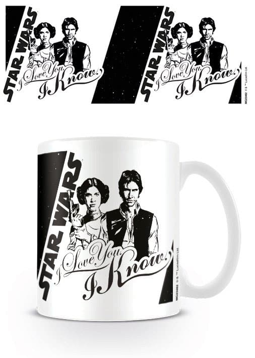 mug star wars i love you