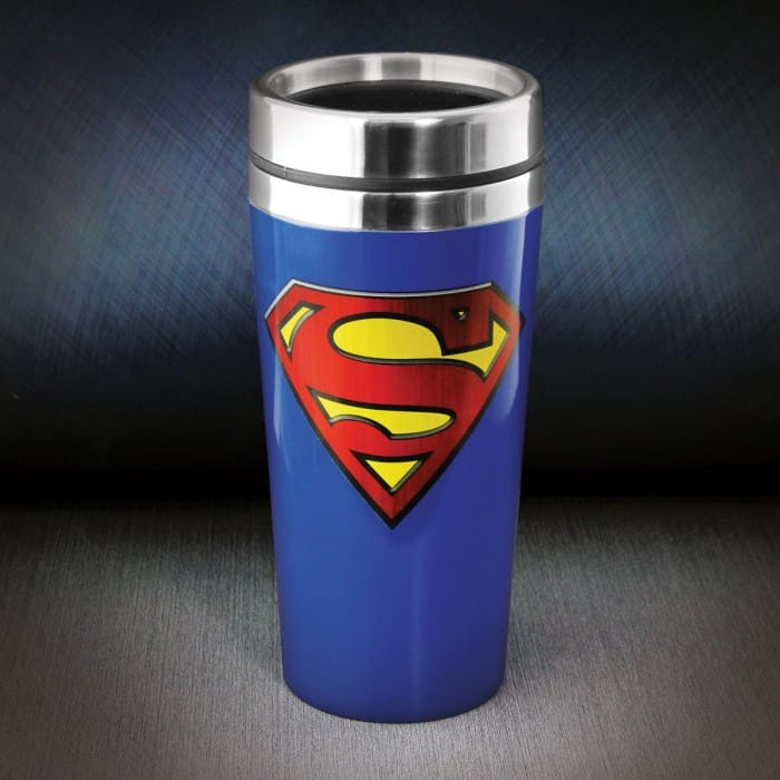 mug de voyage superman dc comics super insolite. Black Bedroom Furniture Sets. Home Design Ideas