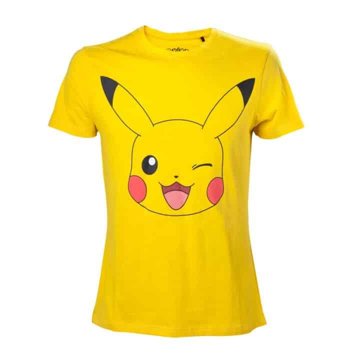 t shirt pokémon pikachu