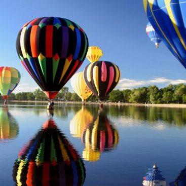 cadeau vol montgolfière