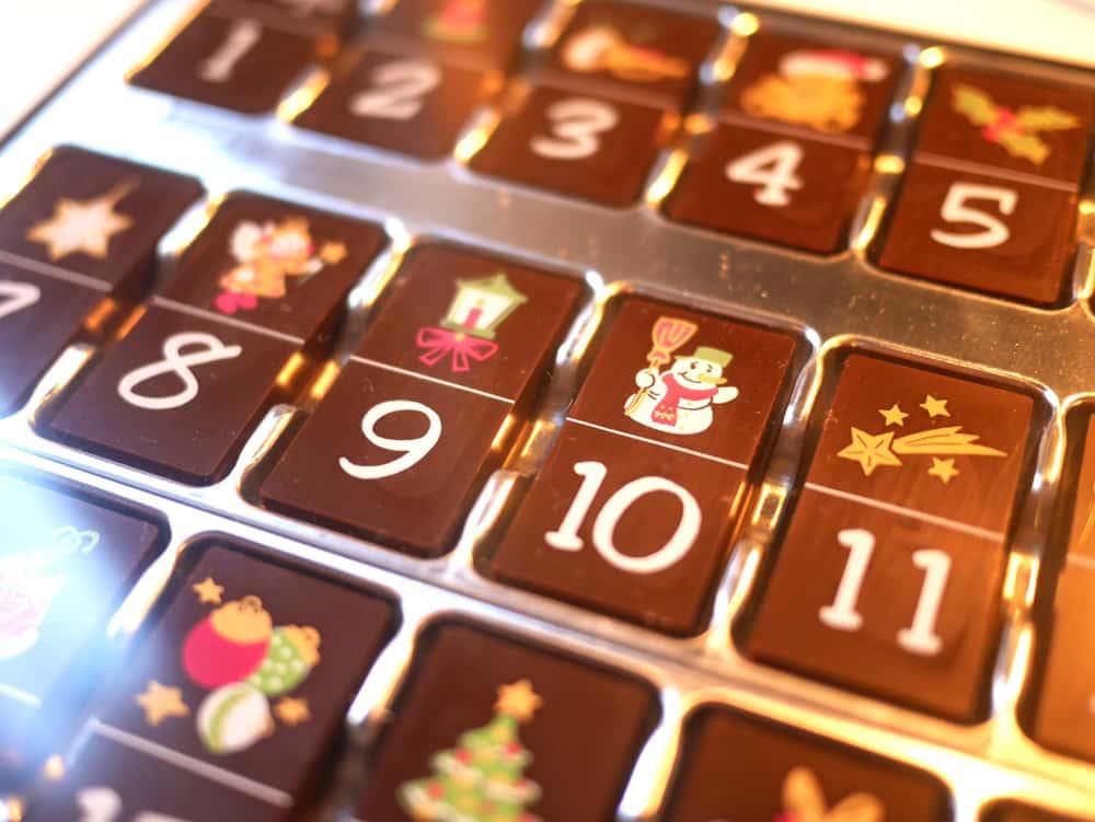 Calendrier de l 39 avent 100 chocolat super insolite - Calendrier de l avent sans chocolat ...