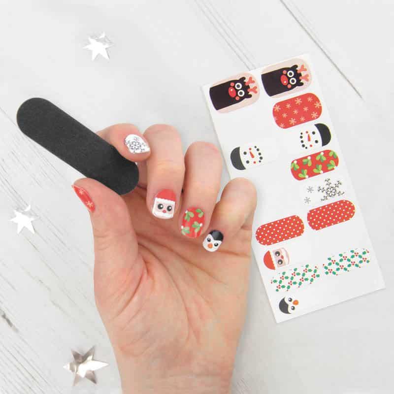 décoration de Noel pour ongles