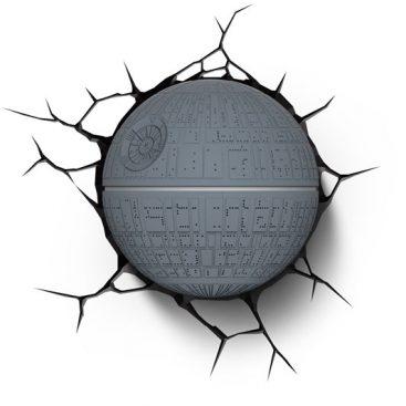 lampe murale etoile de la mort Star Wars