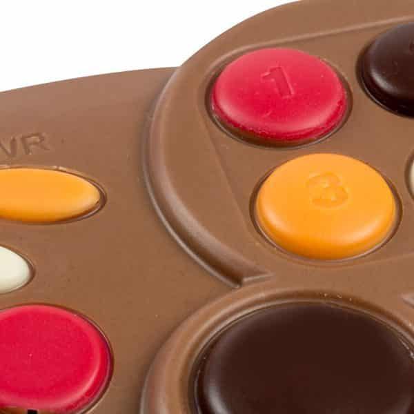 manette jeu chocolat