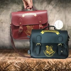 sacoche Harry Potter Poudlard noire