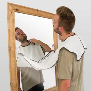 tablier à poils de barbe