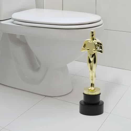 brosse de toilette oscar super insolite. Black Bedroom Furniture Sets. Home Design Ideas