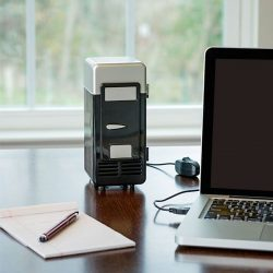 mini frigo USB noir