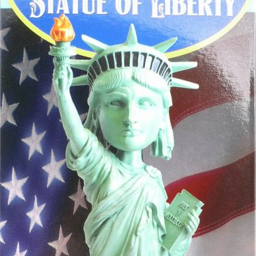 statue liberté bobble head