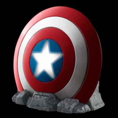 Haut parleur bluetooth captain america super insolite - Bouclier capitaine america ...