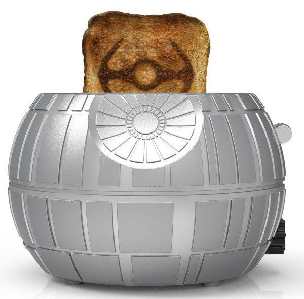 grille pain Star Wars Etoile de la Mort