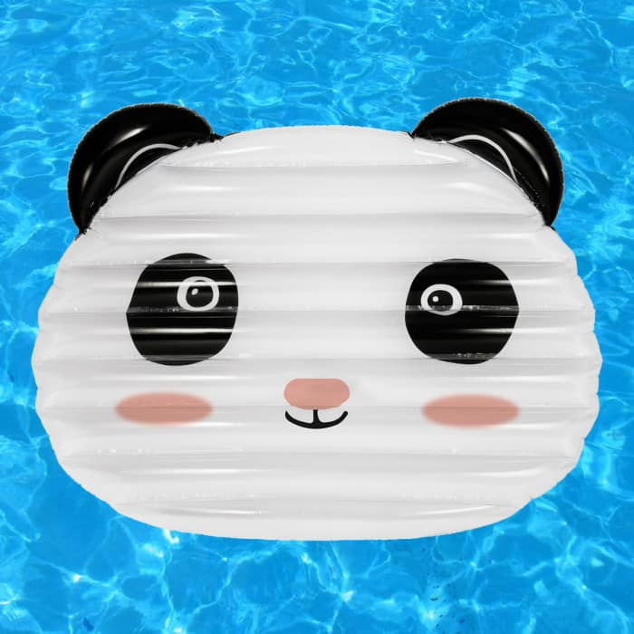 Matelas gonflable panda g ant super insolite for Rustine piscine gonflable