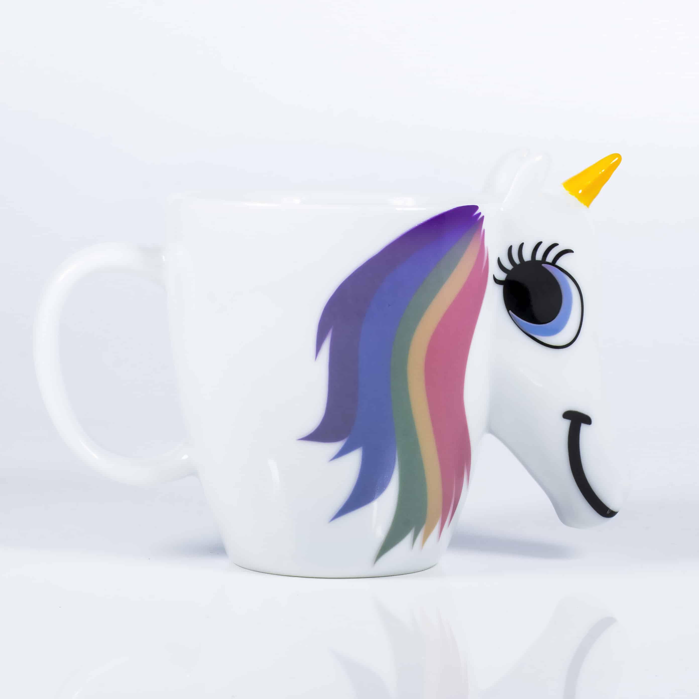 mug licorne qui change de couleur super insolite. Black Bedroom Furniture Sets. Home Design Ideas
