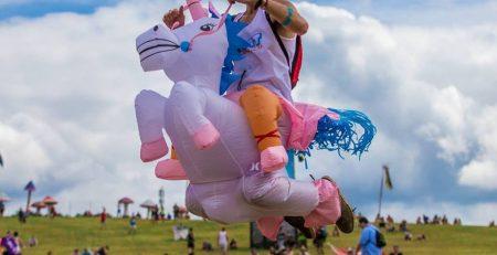 Costume de Licorne Gonflable