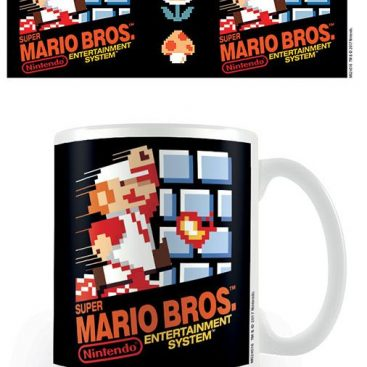 Mug Super Mario Nintendo NES