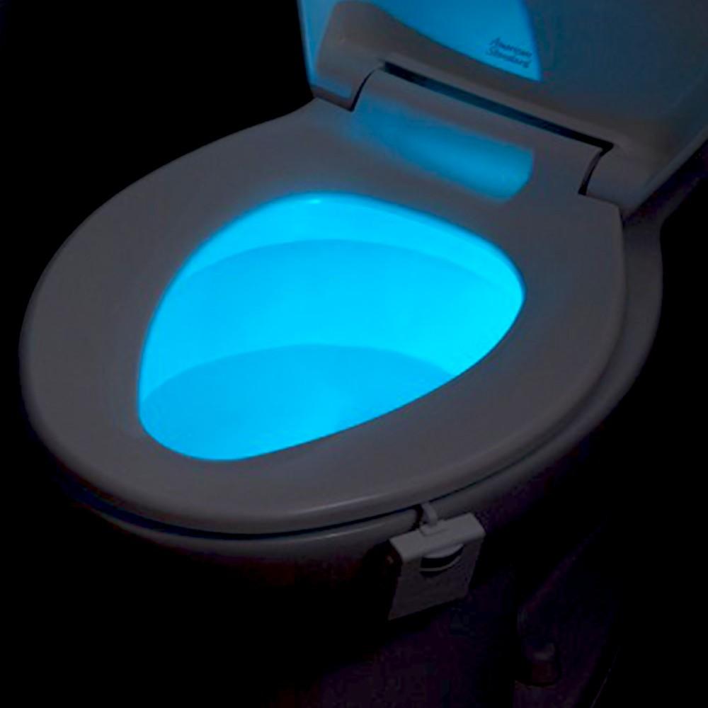 Lumières toilettes WC