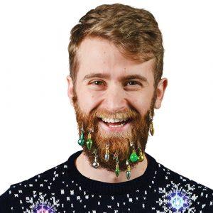 deco boule de noel pour barbe, le cadeau insolite