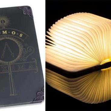 lampe livre harry potter tom riddle