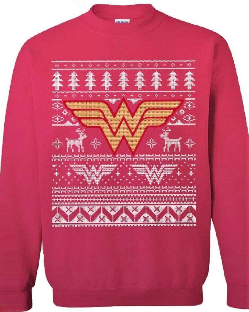 pull de Noël Wonder Woman