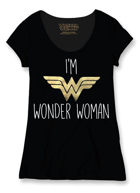 tshirt I'm a Wonder Woman