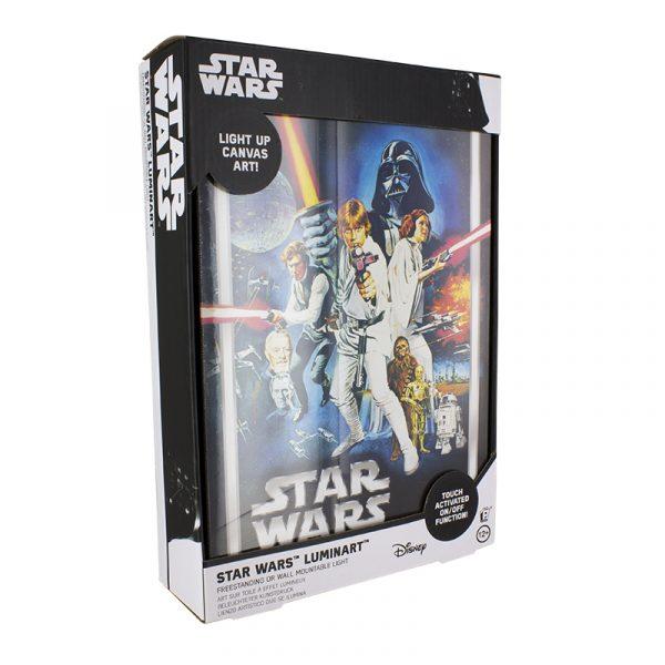 cadre lumineux star wars nouvel espoir