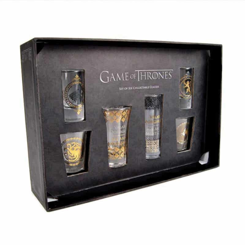 verres shooters deluxe game of thrones
