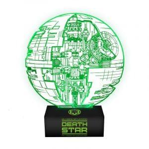 lampe etoile de la mort Star Wars