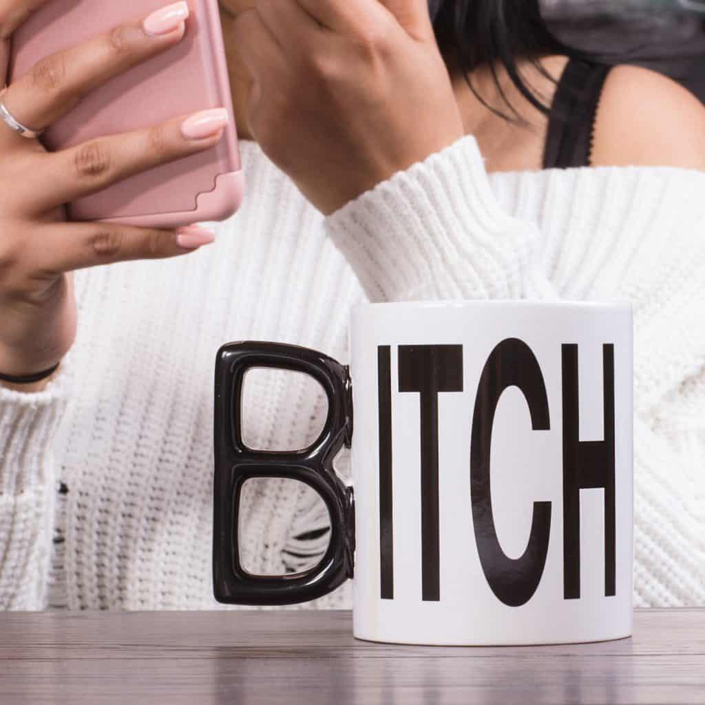 mug bitch