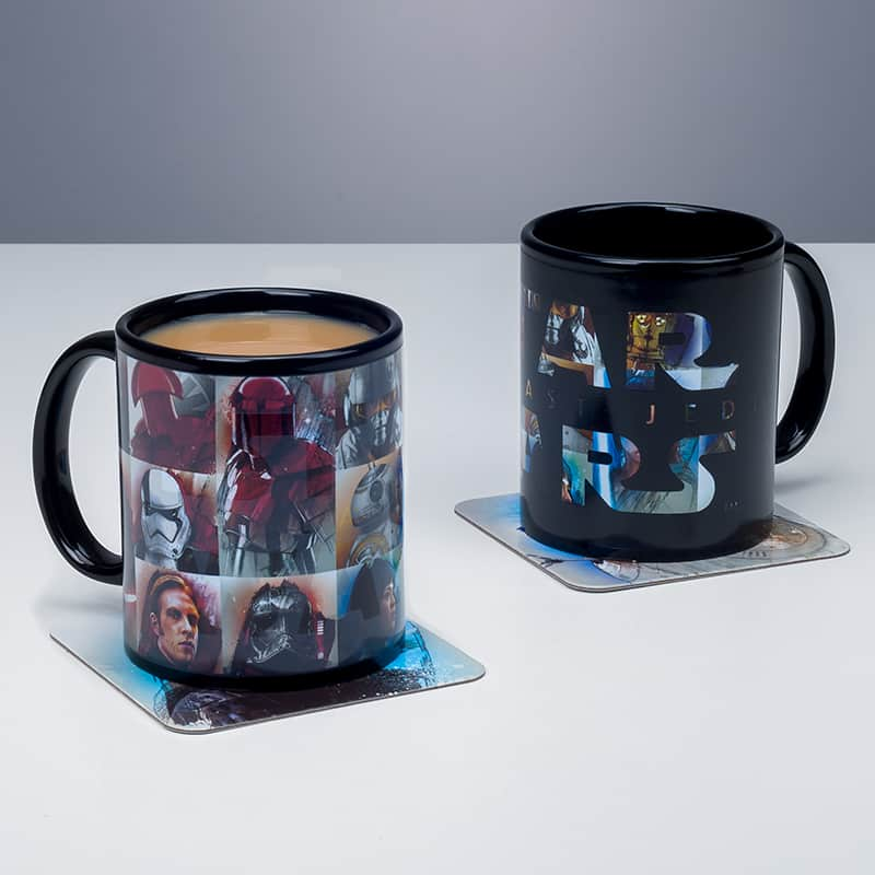 mug star wars 8 personnages
