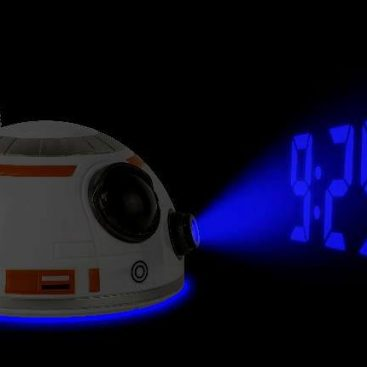 reveil projecteur bb8 star wars