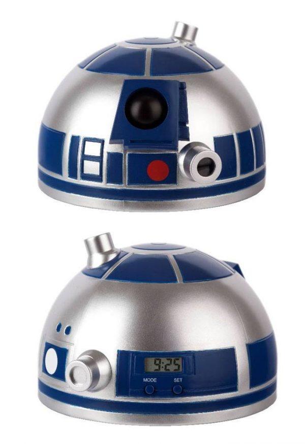Réveil Projecteur Star Wars R2 D2
