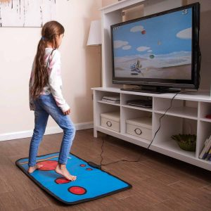 tapis manette de jeux video