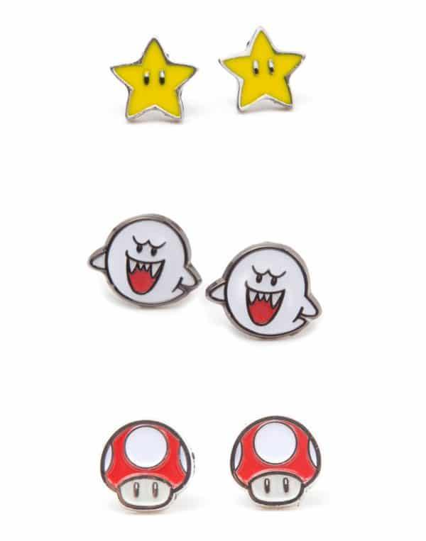 boucle d'oreille Super Mario Bros