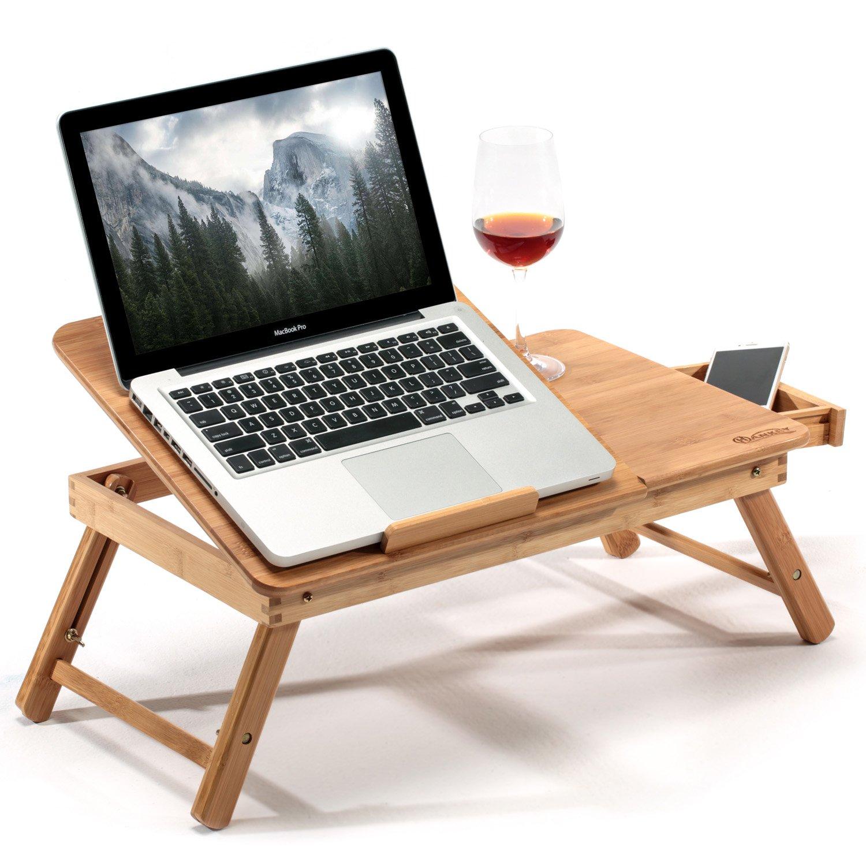 bureau mobile pour ordinateur portable