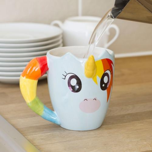 mug licorne avec corne