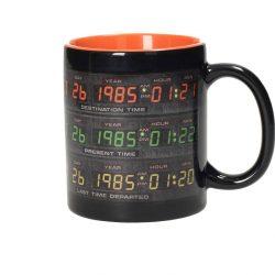 mug retour vers le futur time control