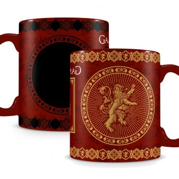mug Game of Thrones thermosensible Lannister