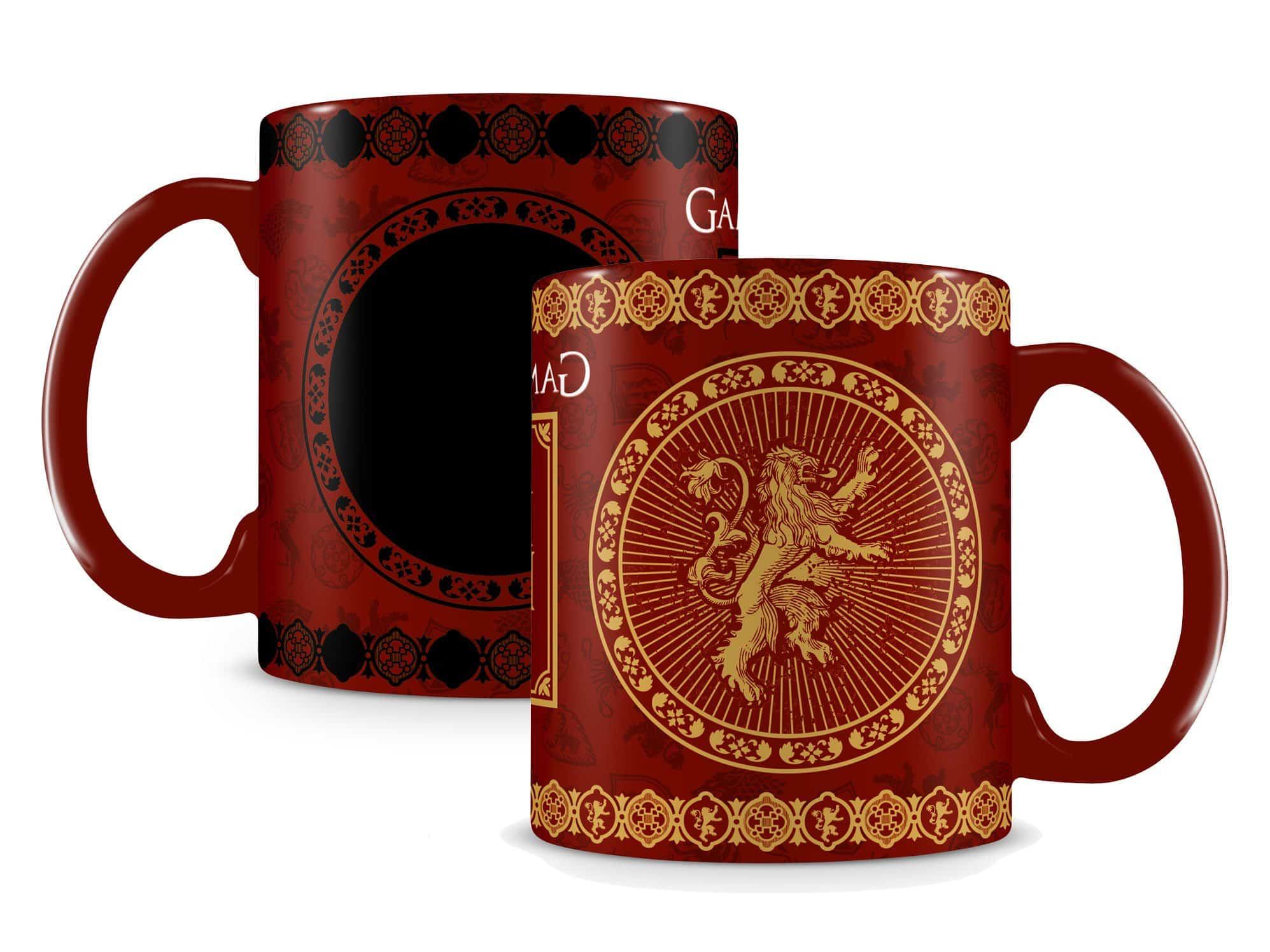 mug game of thrones lannister thermor ac super insolite. Black Bedroom Furniture Sets. Home Design Ideas