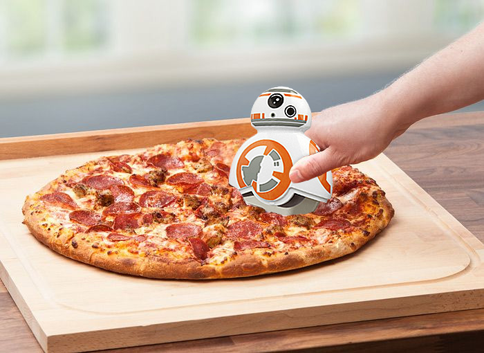 roulette pizza BB8 Star Wars