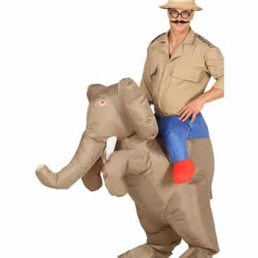 deguisement elephant explorateur