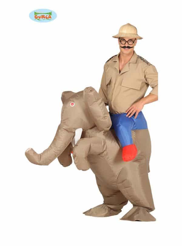deguisement elephant explorateur