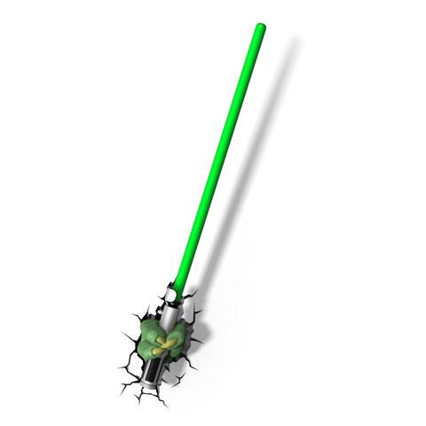 Lampe veilleuse Sabre Laser Yoda Star Wars