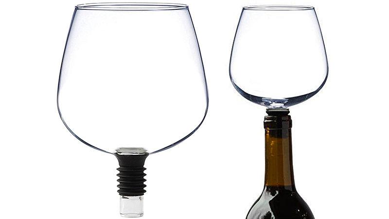 Verre à vin pour boire à la bouteille
