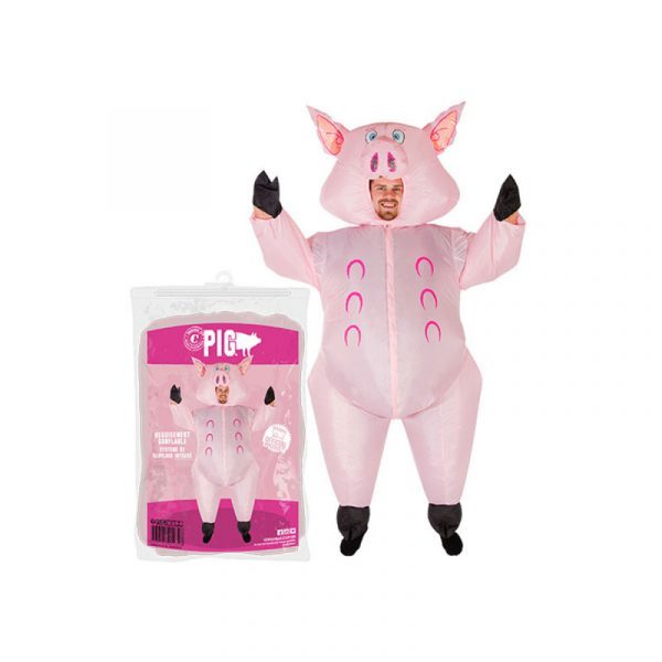 costume cochon gonflable