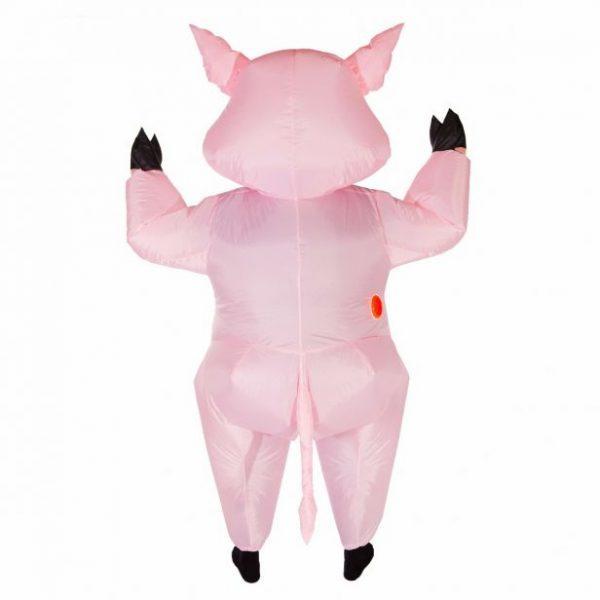 costume cochon gonflable arrière