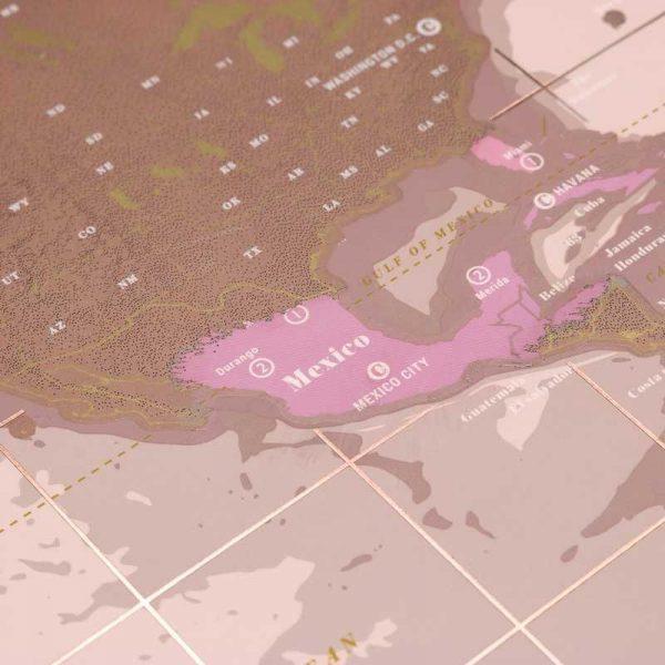carte-monde-gratter-rose-doré (4)