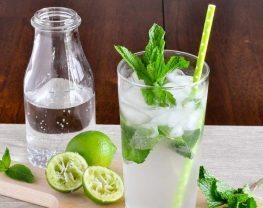 set cocktail mojito