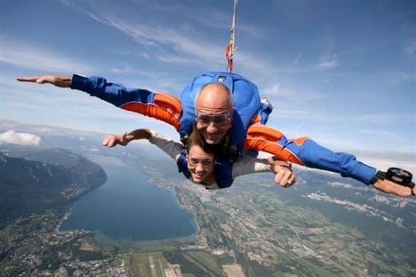 coffret saut en parachute